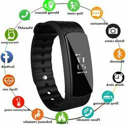 Smart Bracelet Heart Rate Monitor Blood Step Counter Fitness