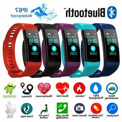 smart bracelet watch blood pressure heart rate