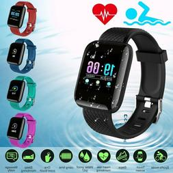 Smart Bracelet Watch Heart Rate Monitor Blood Pressure Fitne