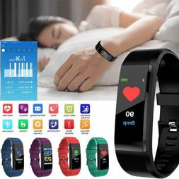 Smart Bracelet Wristband Heart Rate Monitor Blood Pressure F