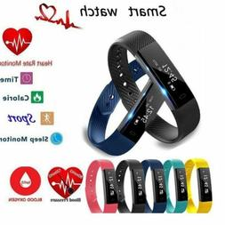 Smart Bracelet Wristband Watch Heart Rate Monitor Blood Pres