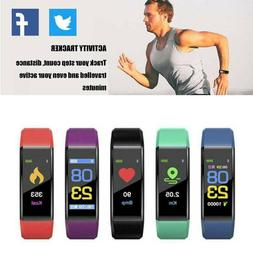 Smart Watch Bluetooth Bracelet Heart Rate Blood Pressure Mon