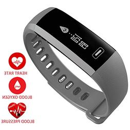 New Smart Fitness Tracker,Smart Watch with Blood Pressure He