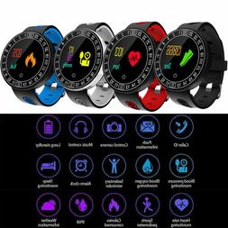 Smart Watch Band Oxygen Blood Pressure Heart Rate Fitness Tr