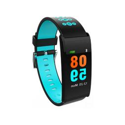 Smart Watch Blood Heart Rate Monitor Waterproof Exercise Ban