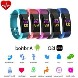 Smart Watch Blood Pressure Fitness Heart Rate Monitor Pedome