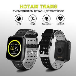 XGODY Smart Watch Heart Rate Exercise Pedometer Monitor for