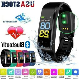 Smart Watch Waterproof Heart Rate Fitness Step Caolorie Trac