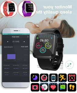Smart Watch Y7P Heart Rate Monitor Fit iOS&Android Fitness T