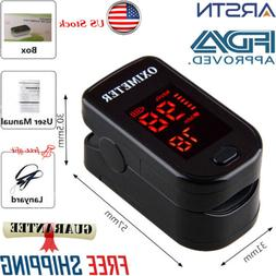 SpO2 PR Finger tip Pulse Oximeter Blood Oxygen Heart Rate Mo