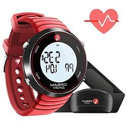 Dream Sport Heart Rate Monitor Chest Strap and Watch, 5.3KHZ