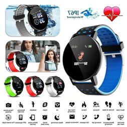 Sport Smart Watch Bluetooth Heart Rate Blood Pressure Monito