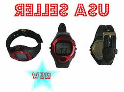 Sport Watch Calorie Counter Heart Rate Pulse Monitor