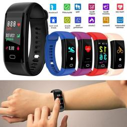 Sport Waterproof Fitness Activity Tracker Smart Band Watch w