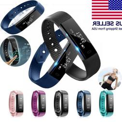 Sports Health Fitness Activity Tracker Smart Watch Wrist Ban