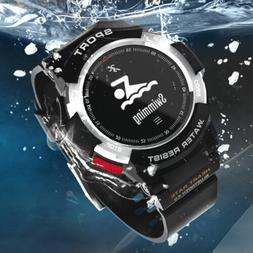 Sports Smart Watch Waterproof Bluetooth Heart Rate Monitor f