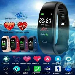 Sport Blood Pressure Oxygen Heart Rate Monitor Smart Watch B