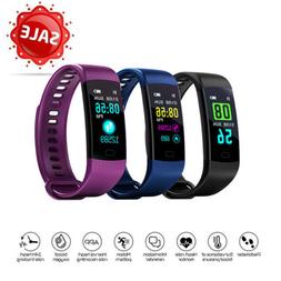 Sports Waterproof Fitness Activity Tracker Smart Watch w/ He