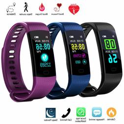 Sports Waterproof Fitness Activity Tracker Smart Watch With