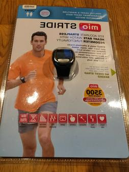Mio Stride Heart Rate Monitor Pedometer Programmable Digital