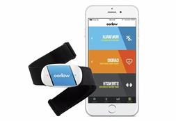 Wahoo TICKR Heart Rate Monitor Strap for iPhone & Android Bl