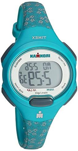 Timex Women's TW5M07200 Ironman Essential 10 Mid-Size Teal F