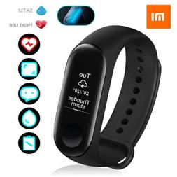 US Xiaomi Mi Band 3 5ATM Waterproof Fitness Heart Rate Monit