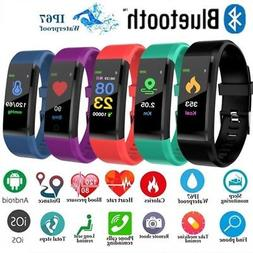 US Smart Watch Bracelet Wristband Heart Rate Monitor Fitness