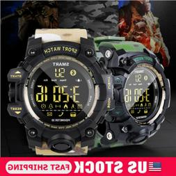 US Waterproof Smart Sport Watch BT4.0 Heart Rate Monitor Men