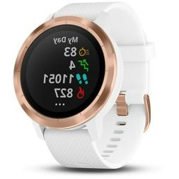 Garmin 010-01769-09 vívoactive 3, GPS Smartwatch with Conta