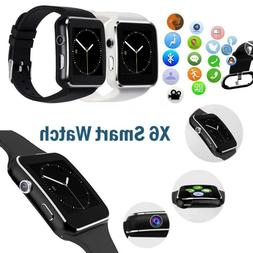 Waterproof Bluetooth Smart Watch Wrist Phone Mate For iphone