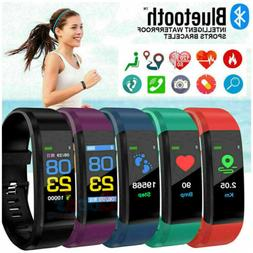 Waterproof Smart Watch Fitbit Heart Rate Fitness Step Tracke