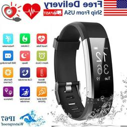 Waterproof Smart Watch Heart Rate Monitor Tracker Blood Pres