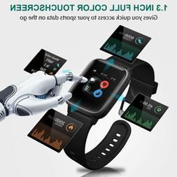 Waterproof Swimming Smart Watch Heart Rate Monitor Touch Scr