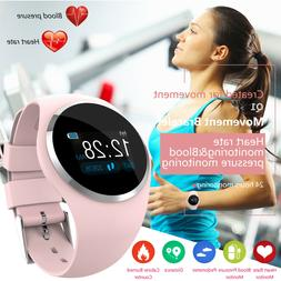 Women&Girl Waterproof Bluetooth Smart Watch Ladies Phone Mat