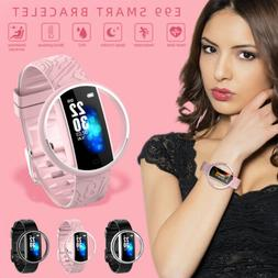 Women Blood Pressure Oxygen Heart Rate Monitor Fitness Track
