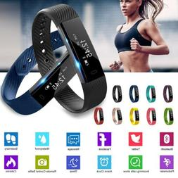 Women Man Smart Bracelet Watch Heart Rate+Blood Pressure Mon