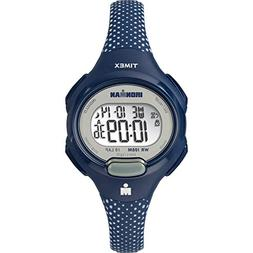 Timex Women's TW5M16700 Ironman Essential 10 Blue/White Dots
