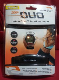 SPORTLINE Womens Heart Rate Monitor Duo 1060 Dual-Use With E