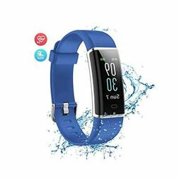 Wonbo Fitness Tracker with Heart Rate Monitor,Color Screen A
