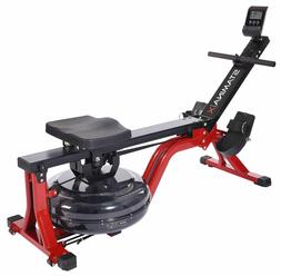 Stamina   X Water Rower, Compact Rowing Machine with Heart R