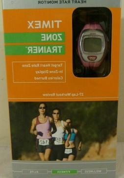 Timex Zone Trainer Heart Rate Monitor - Pink - NEW - Model T